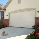 Utah residential garage doors including steel garage doors