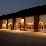 Commercial Sectional Overhead Doors for utah firehouse