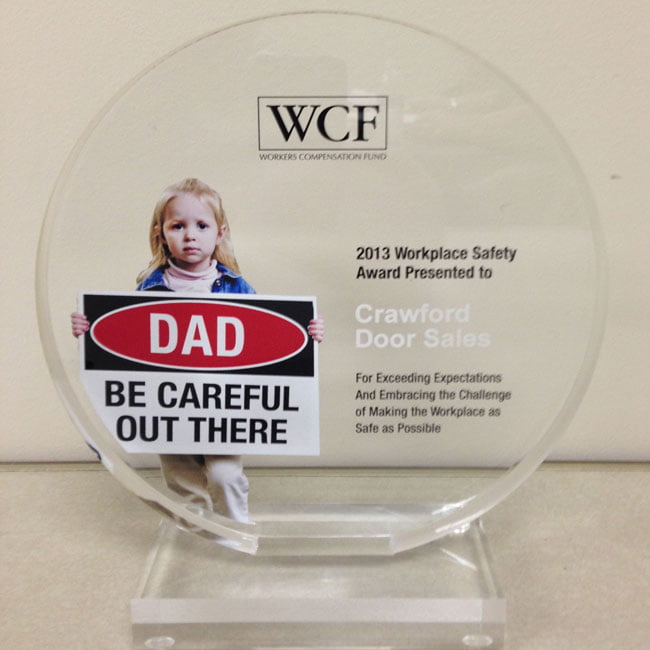 WCF dad be careful out there
