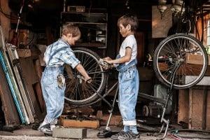 Safe Children in Garage