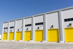 high-speed garage doors for warehouse in utah
