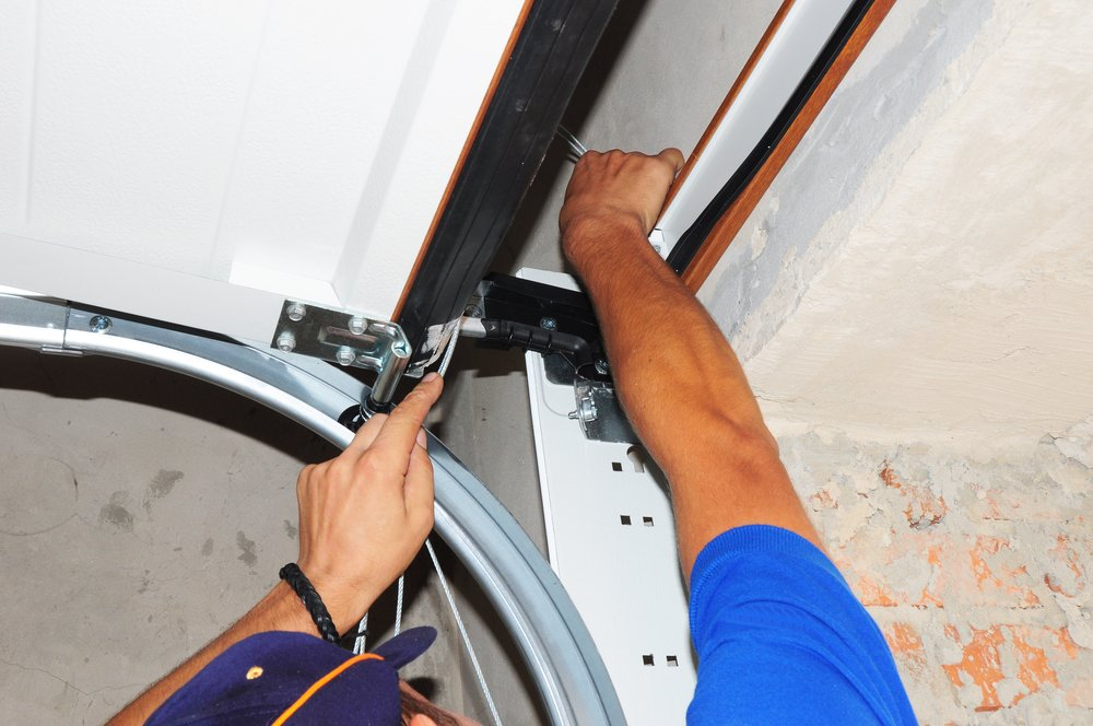 Replacing garage door spring