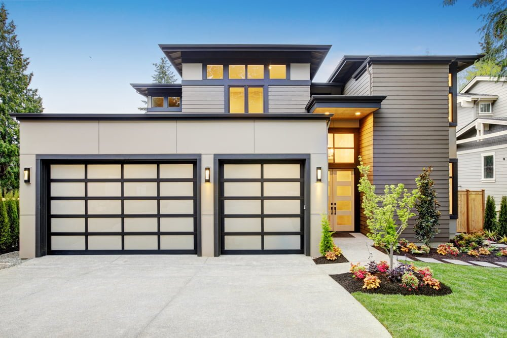safety features glass garage doors