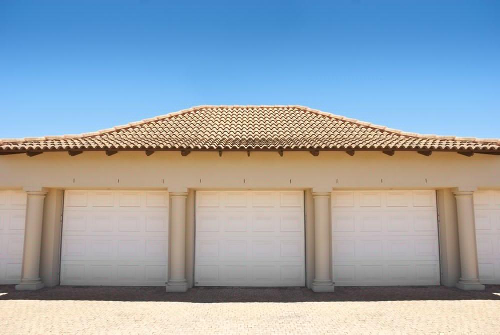 wood faux garage doors
