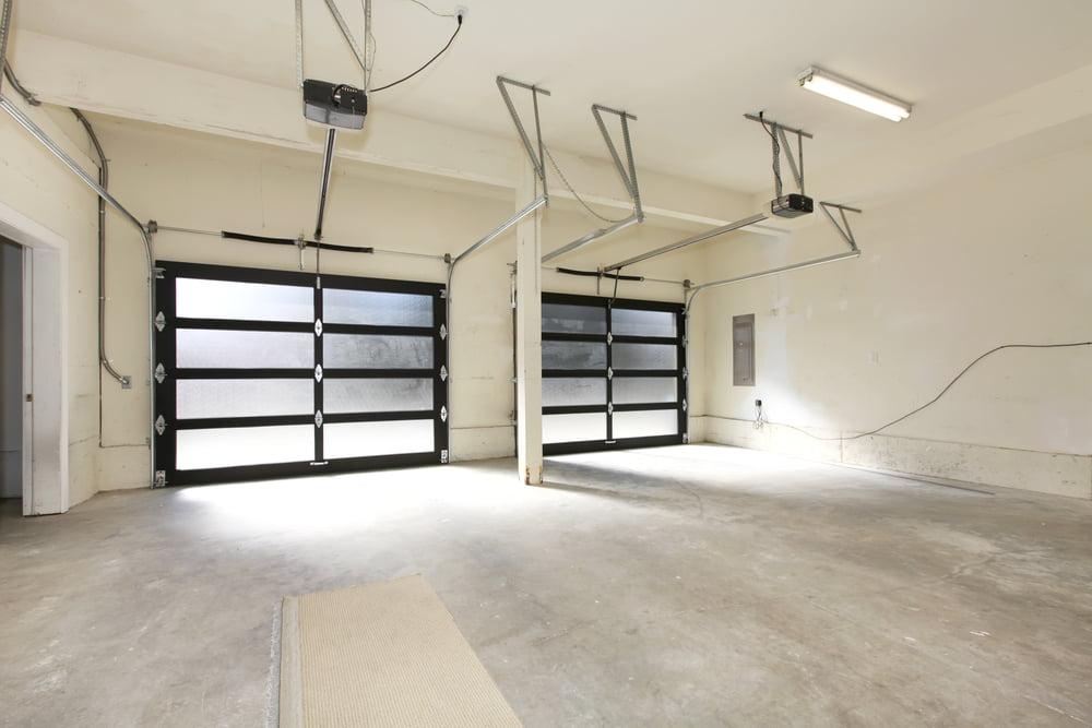 comparing glass garage doors types