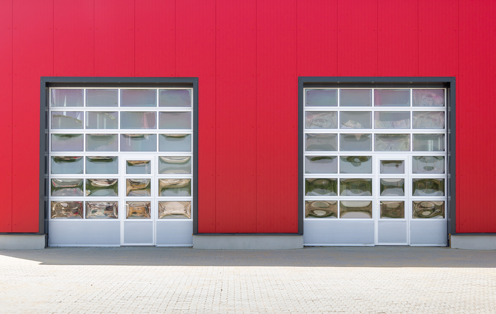 comparing glass garage doors types