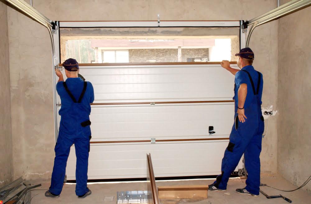 detached garage door insulation
