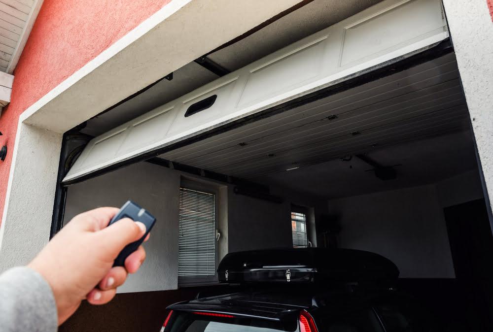 reducing noise garage door