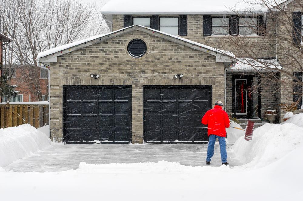 cold weather garage doors